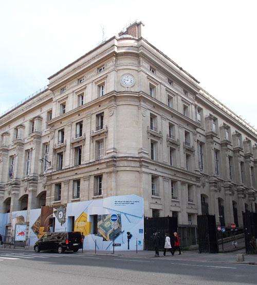 La Poste du Louvre - Angle rue du Louvre et passage Gutemberg