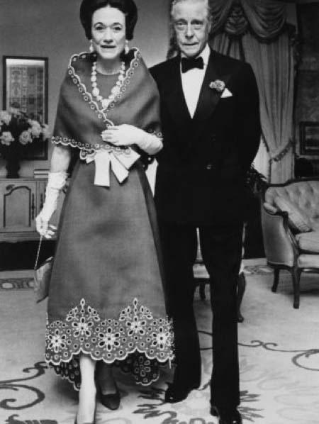 Le duc et la duchesse de Windsor