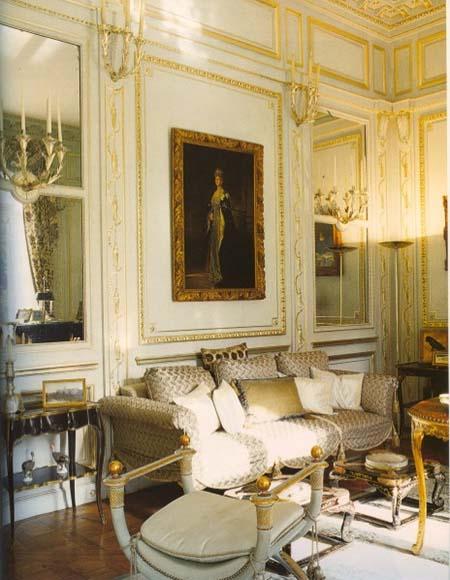 L'hôtel du duc et de la duchesse de Windsor - Un salon