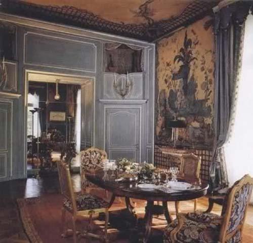 L'hôtel du duc et de la duchesse de Windsor - La salle à manger