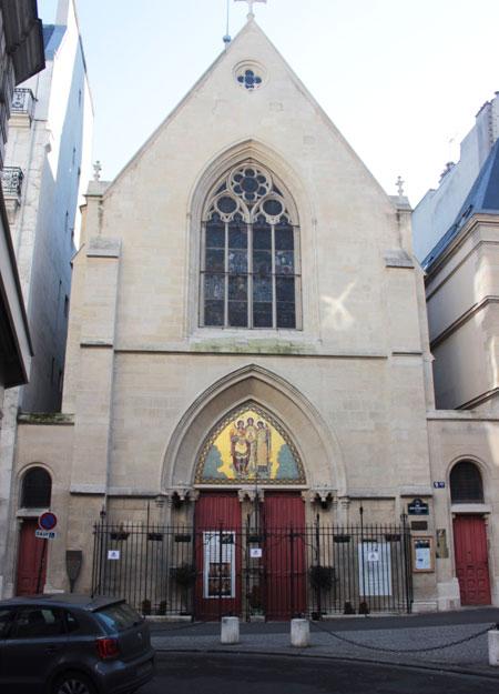 La chapelle du collège de Beauvais