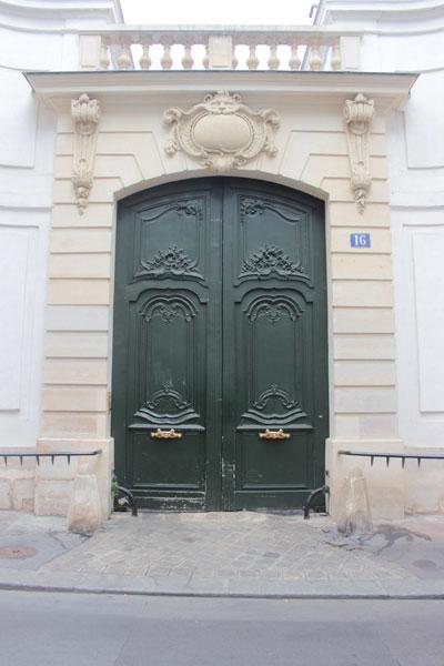 L'hôtel Séguier - Le portail Régence