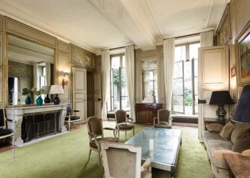 L'hôtel Séguier - Un salon