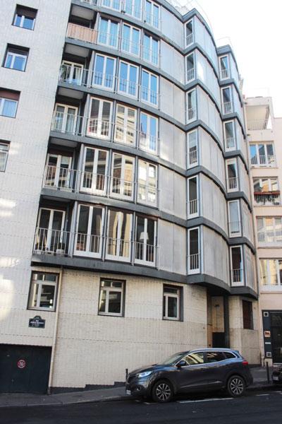 Immeuble d'habitation Rue Jean de Beauvais