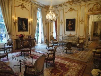 La résidence de l'ambassadeur de Belgique - Un salon