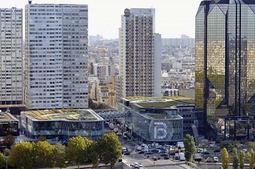 Le centre commercial Beaugrenelle et les tours de Beaugrenelle