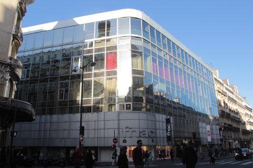 La FNAC Montparnasse