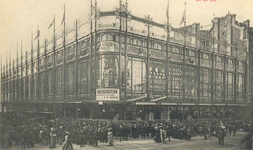 Le Bazar de la rue de Rennes ouvert en 1906