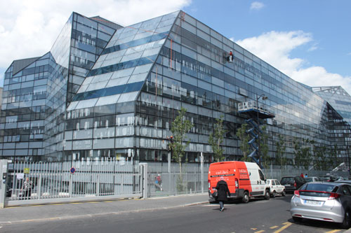 L'Institut Imagine - Façade rue du Cherche-Midi