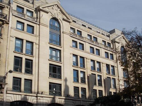 L'immeuble du journal L'Intransigeant, puis du journal France-Soir
