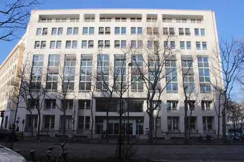 Le ministère des Affaires sociales et de la Santé - Façade sur l'avenue de Ségur