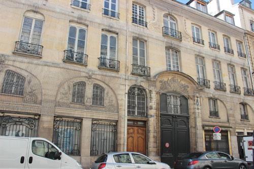 L'hôtel de Montmorency-Bours - Le musée Hebert
