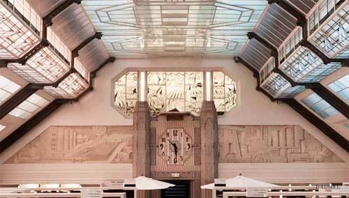 Centre de Ressources documentaires - Vitraux de Gruber et bas-reliefs des frères Martel