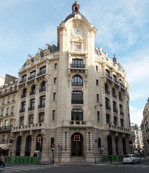 Immeuble commercial rue Réaumur