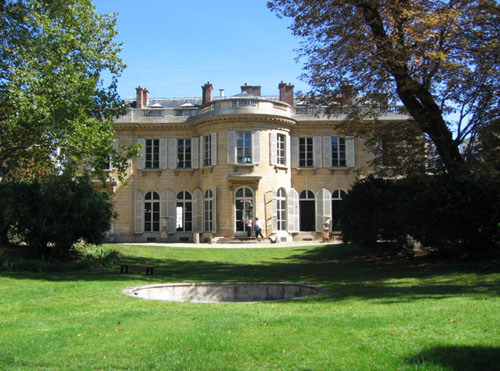 L'hôtel de Bourbon-Condé - La façade sur le jardin