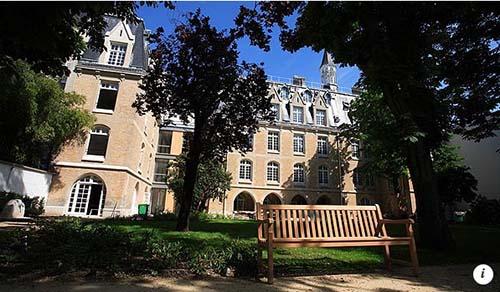 La Maison de la Conférence des Evêques de France - Les bâtiments anciens et le jardin