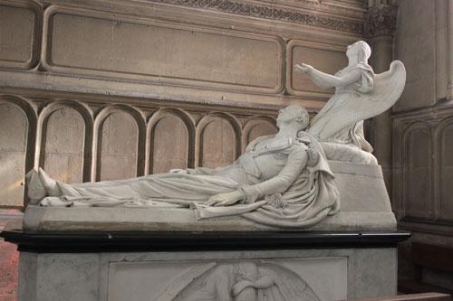 La chapelle Saint-Ferdinand - Le gisant du prince