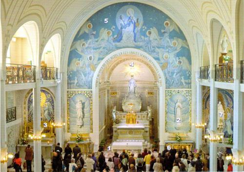 La chapelle de la médaille miraculeuse
