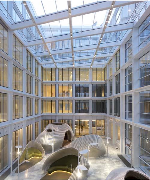 L'immeuble #cloud Paris - L'atrium