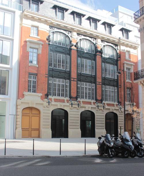 L'immeuble #cloud Paris - L'immeuble de 1908 intégré au projet