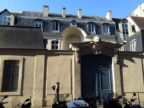L'hôtel Delisle-Mansart - Le portail