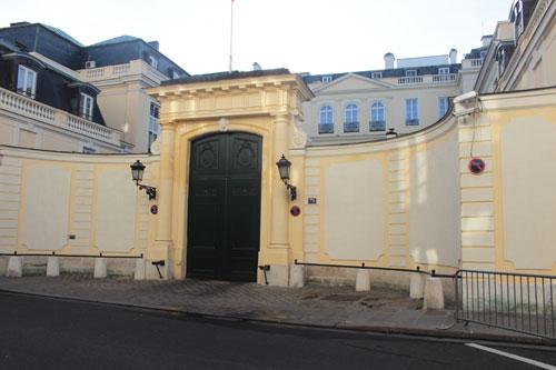 L'hôtel d'Estrées - Le portail