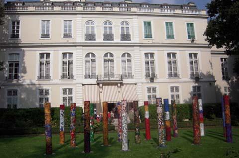 L'hôtel d'Estrees - Façade sur le jardin