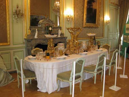 L'hôtel d'Estrees - La salle à manger