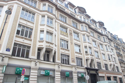 Immeuble de bureaux - Façade rue de Metz