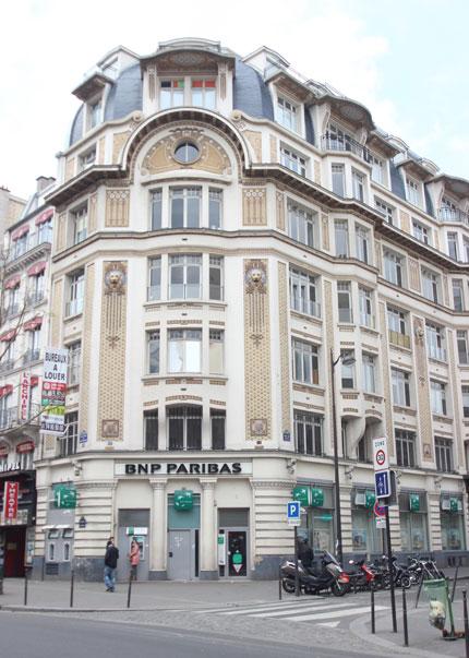 Immeuble de bureaux boulevard de Strasbourg