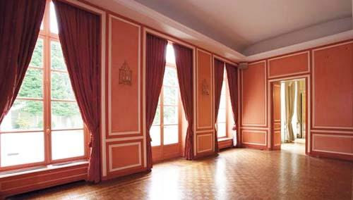 L'hôtel de La Rochefoucauld d'Estissac - Un salon de réception