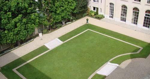 L'hôtel de La Rochefoucauld d'Estissac - Le jardin