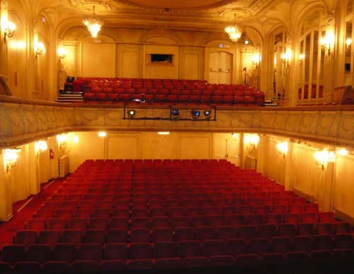 Le théâtre Tristan Bernard - La salle