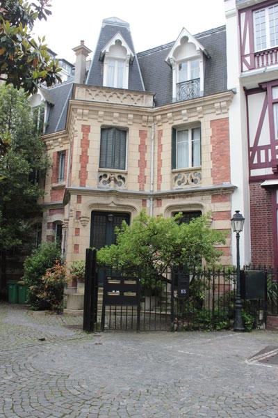 La villa Guilbert