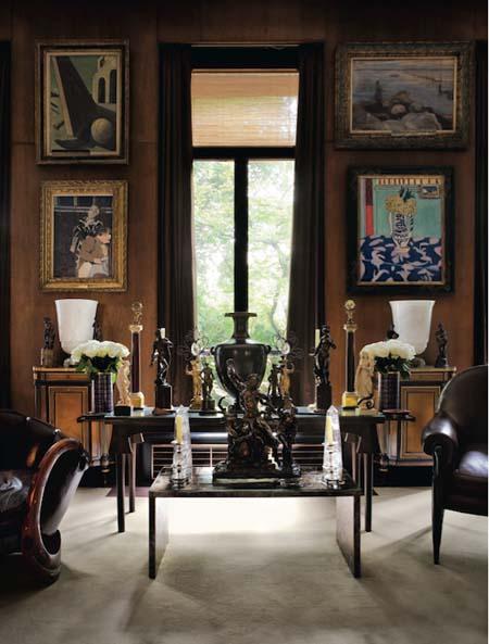 L'appartement d'Yves Saint-Laurent et Pierre Bergé