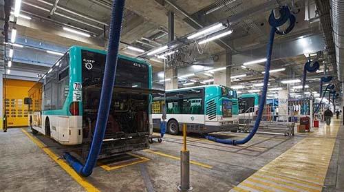 Le centre bus RATP