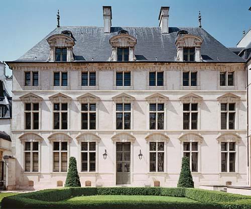 L'hôtel Passart - La façade sur le jardin