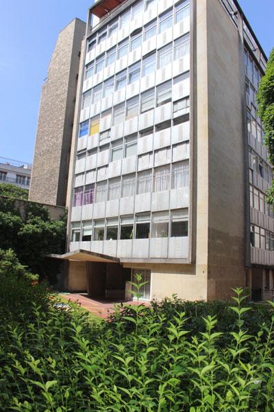 Immeuble de bureaux square Mozart