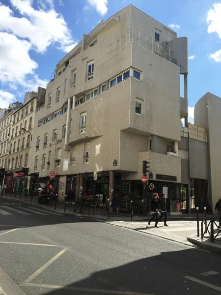 Logements sociaux rue de Ménilmontant