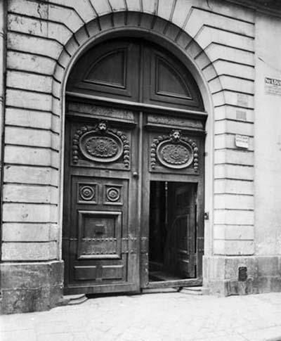 L'hôtel d'Aguessau - Le portail du XVIIIe siècle