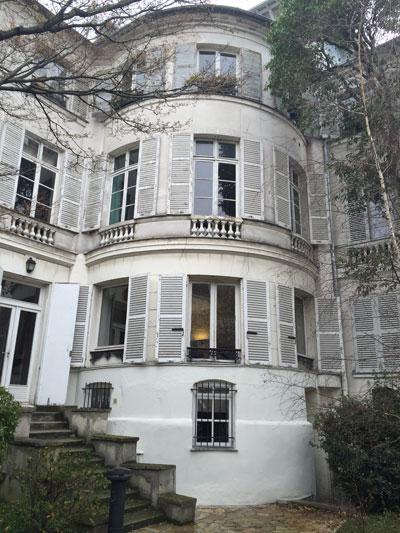 La maison de Mme Hamelin et de Victor Hugo - La rotonde d'angle