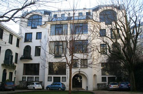 Ateliers d'artistes, 126 boulevard du Montparnasse