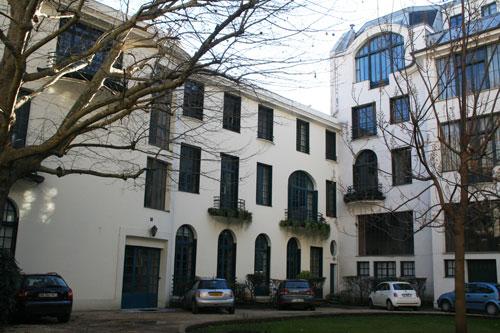 Ateliers d'artistes, 126 bouelvard du Montparnasse