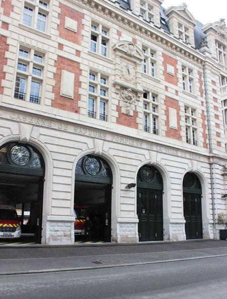 Caserne de Pompiers Rue Carpeaux