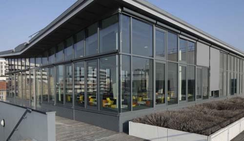 L'école Boulle - Le nouveau restaurant panoramique et sa terrasse