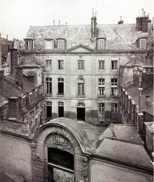 Le grand hôtel de Verrue, 37 rue du Cherche-Midi (démoli)