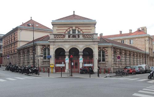 L'hôpital Bretonneau - La partie ancienne conservée