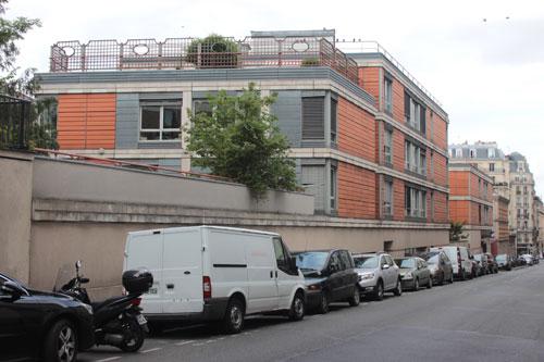 L'hôpital gériatrique Bretonneau - Les pavillons contemporains