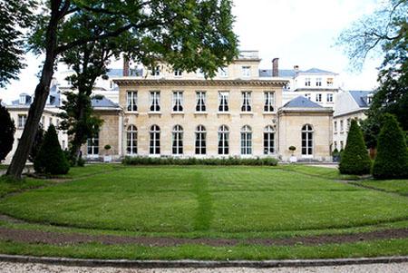 L'hôtel de Montesquiou-Ferenzac - Façade sur le jardin