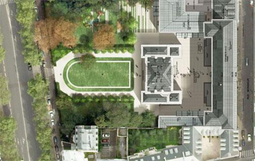 L'hôtel de Montesquiou-Ferenzac - Vue en plan